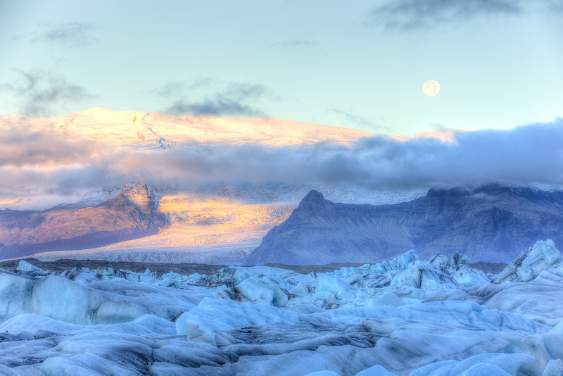 Jokulsarlon at Sunrise