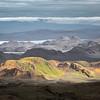 Shaped of Landmannalaugar hills