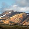 Painterly mountain of Landmannalaugar