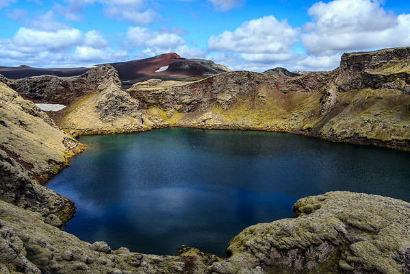 Icelandic Crater Lake