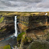 Haifoss Háifoss with its twin falls