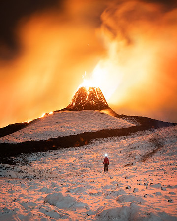 Hiking in the land of ice and fire