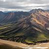 Curvy mountains of Landmannalaugar