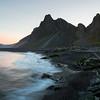 Krossanesfjall pre-dawn before sunrise