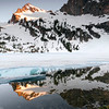 North Alpine Lake, Sawtooth Mountains - Idaho<br /> <br /> Sunrise over Alpine Lake (north) in the Sawtooth Mountains of Idaho. A productive winter, a cool spring, and sudden clear skies, allowed early summer trips into the high lakes - even though most were glazed with the turquoise remains of a long winter.