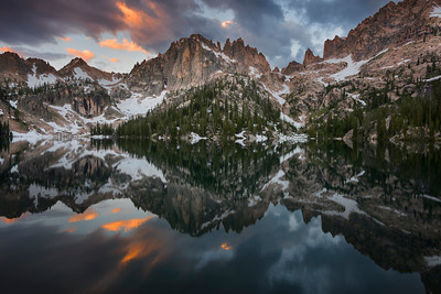The Beauty of Silence, Sawtooth Mountains - Idaho