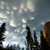 Storm over the Sawtooth Mountains - Idaho<br /> <br /> Here, a swift blanket of mammatus clouds forms over the summit of the steep granite walls of the Elephants Perch, in the Sawtooth Mountains of Idaho. Shortly after this image was captured, there was two inches of marble-sized hail covering the ground.