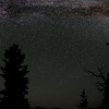Starbow, Sawtooth Mountains - Idaho<br /> <br /> This image was taken on the black night of a new moon, from a remote location in the Sawtooths I call Fairy Meadows. There was virtually no light pollution as the nearest sources of artificial light was faint and far away. I used three images to capture the starbow, stitching them together in Photoshop to capture the entire arc - from north to south. An ancient whitebark pine stands in the foreground - having seen this very sight, each night, for perhaps 500 years.