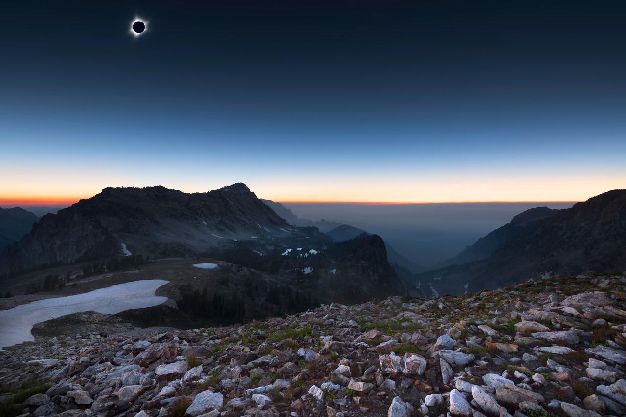 Sawtooth Eclipse - Idaho