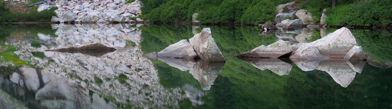 The Floating Stones, Sawtooth Mountains - Idaho