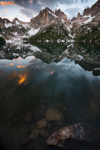 The Golden Moment, Sawtooth Mountains - Idaho