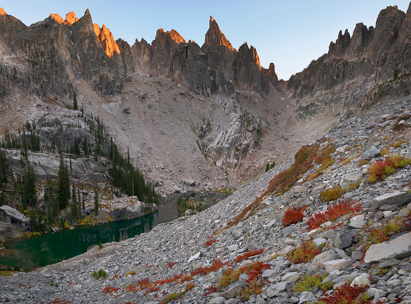 The Sawtooth Mountains - Idaho