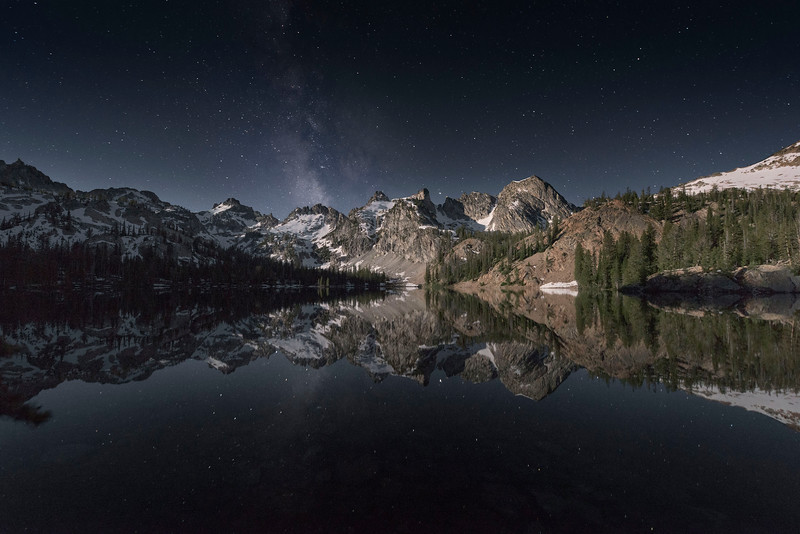Moonglow, Sawtooth Mountains - Idaho