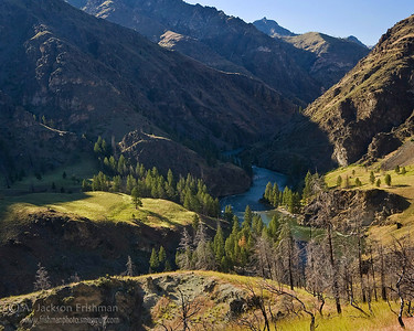 The Middle Fork of the Salmon flowing through Idaho's Frank Church-River of No Return Wilderness, June 2010.
