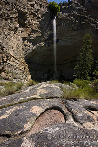 Veil Falls, Frank Church-River of No return Wilderness, June 2010.