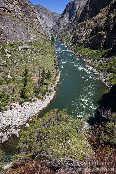 The Impassible Canyon on Idaho's Middle Fork of the Salmon River, Frank Church-River of No Return Wilderness, June 2010.