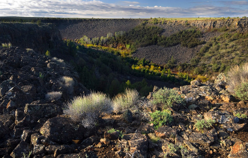 Wagon Box Canyon - Idaho  Hidden within the Owyhee Canyonlands, tiny remote valleys such as this harbor amazing vistas, beautiful spring colors, and treacherous hiking that has to be experienced to be believed.