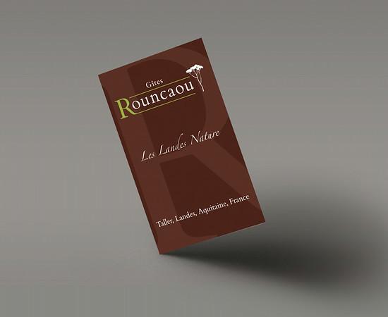 Gîtes Rouncaou - Carte de visite R°V
