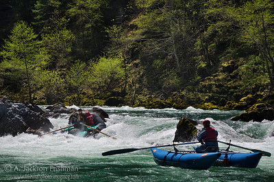 Prelude Rapid on Oregon's Illinois River, April 2011.