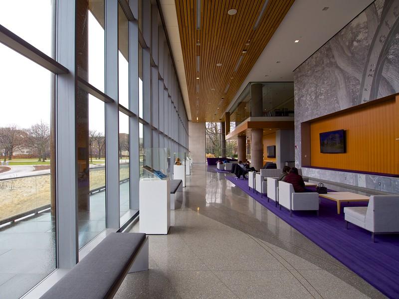 Visitor's Center, Northwestern University - Evanston, Illinois