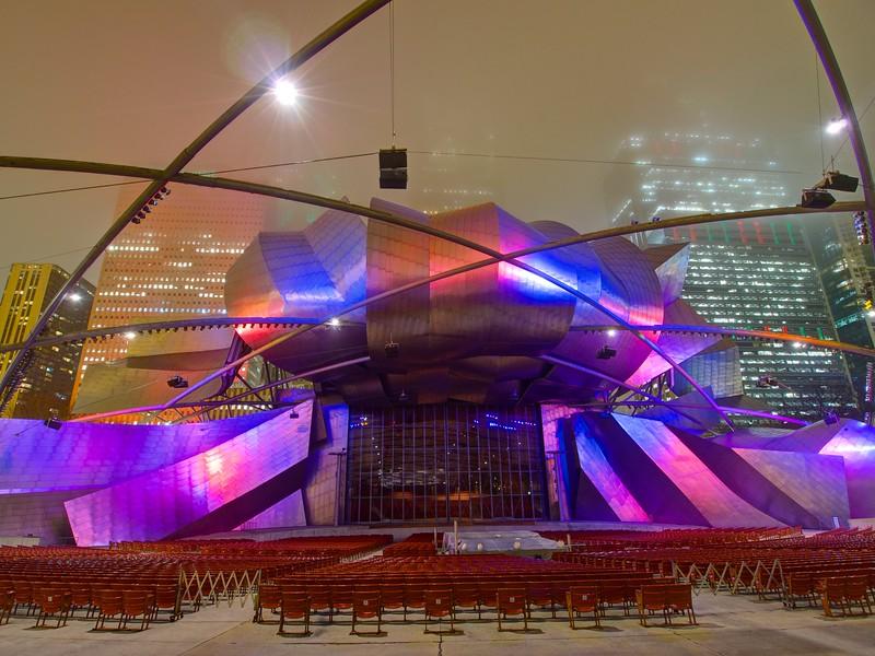 Jay Pritzker Pavilion, Millennium Park - Chicago, Illinois