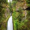 Top of Wahkeena Falls