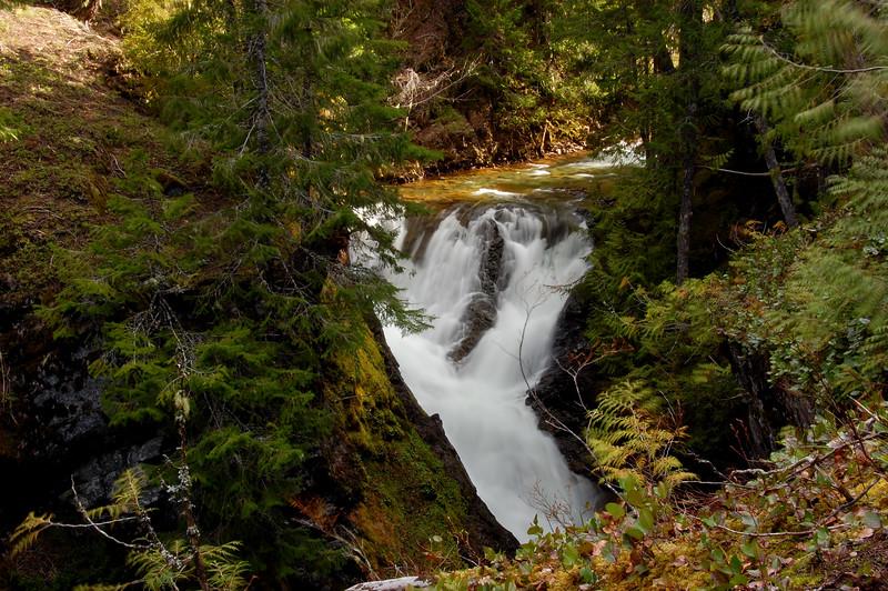 Upper Summit Creek Falls