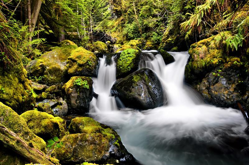 Lena Creek Falls
