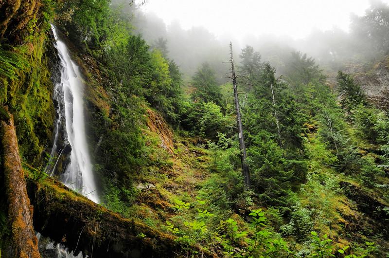 Galena Falls, Low flow
