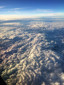 Taken at 32,000 feet over Seattle Washington - On my way to Lake Clark National Park, Alaska