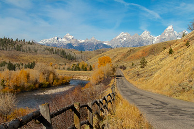 Gros Ventre Road, Grand Teton National Park