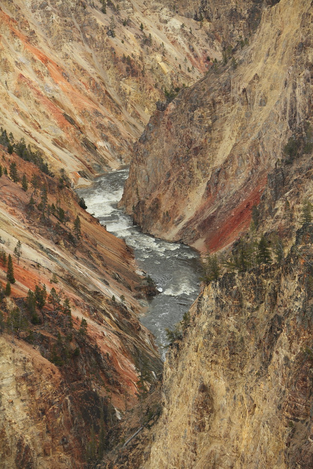 Inspiration Point, Yellowstone Park
