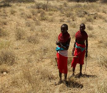 Samburu  junior warriors