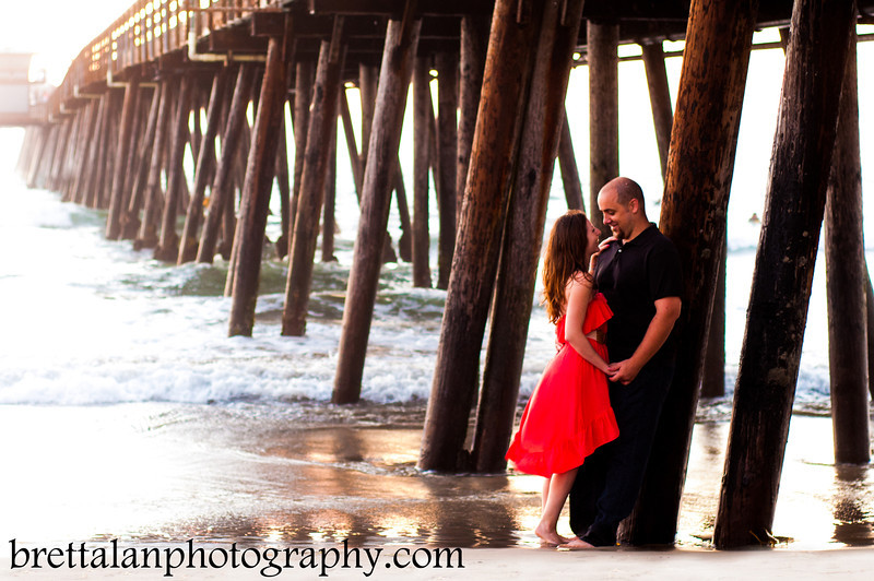 Imperial Beach Pier - Engagement & Wedding Photography