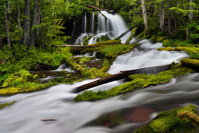 Big Spring Creek Falls (Top Tier )