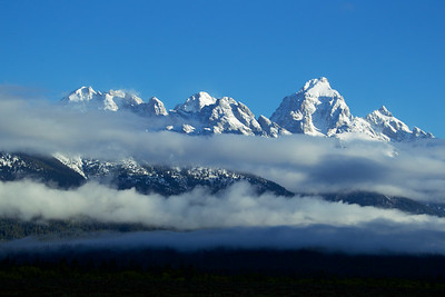 The Tetons rise to the occasion