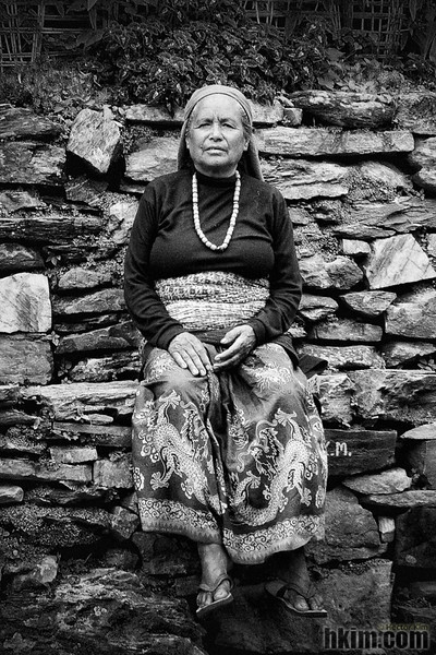 Lady of the Mountain<br /> Annapurna, Nepal