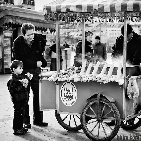 Grandpa and the Corns<br /> Istanbul, Turkey