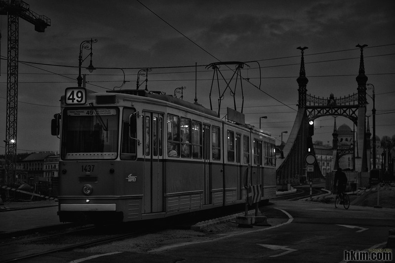 Tram Number 49<br /> Budapest, Hungary