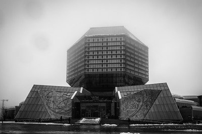 Belarussian national library - Minsk