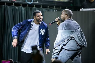 Drake w/ Kanye