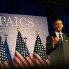 President Obama Asian Pacific American Institute for Congressional Studies (APAICS) .  This 18th Annual Gala Awards was the largest yet, thanks in part to the White House Initiative on Asian Americans and Pacific Islanders.  President Obama spoke.  Photo by Ben Droz.