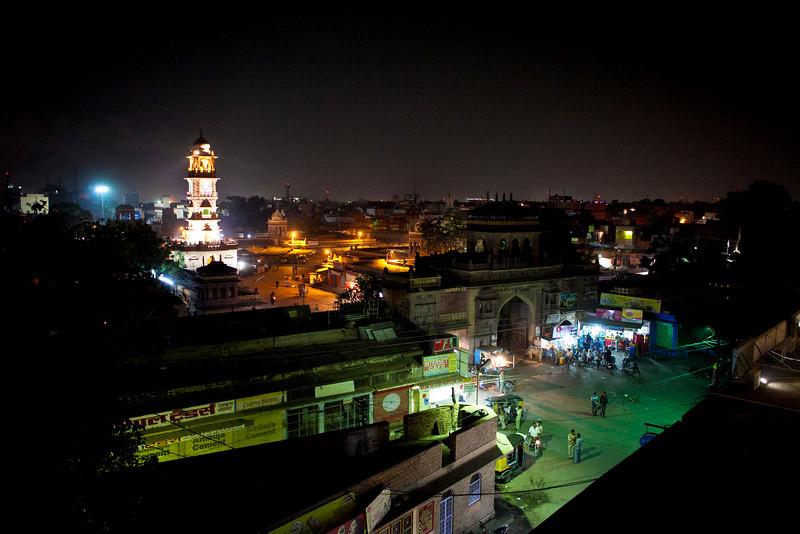 CENTRE OF JODHPUR. RAJASTAN. INDIA.