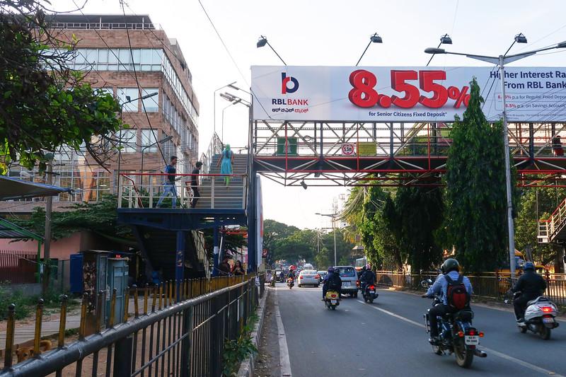 Overpass Walkway - Bangalore, India