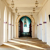 Interior of the St Thomas church in Palayur (Palayoor) in  the Thrissur district in Kerala state in southern India, Asia
