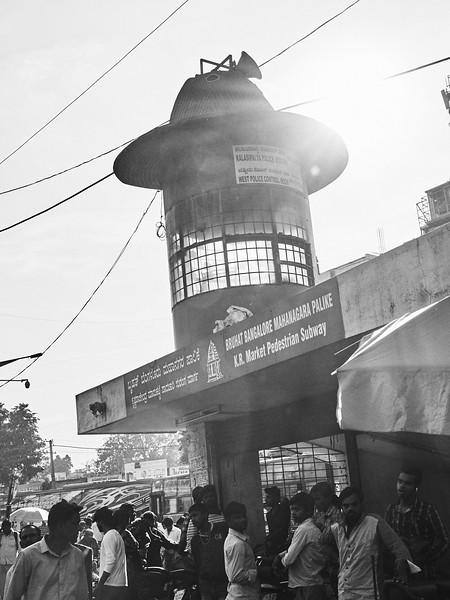 Pedestrian Subway Entrance - Bangalore, India