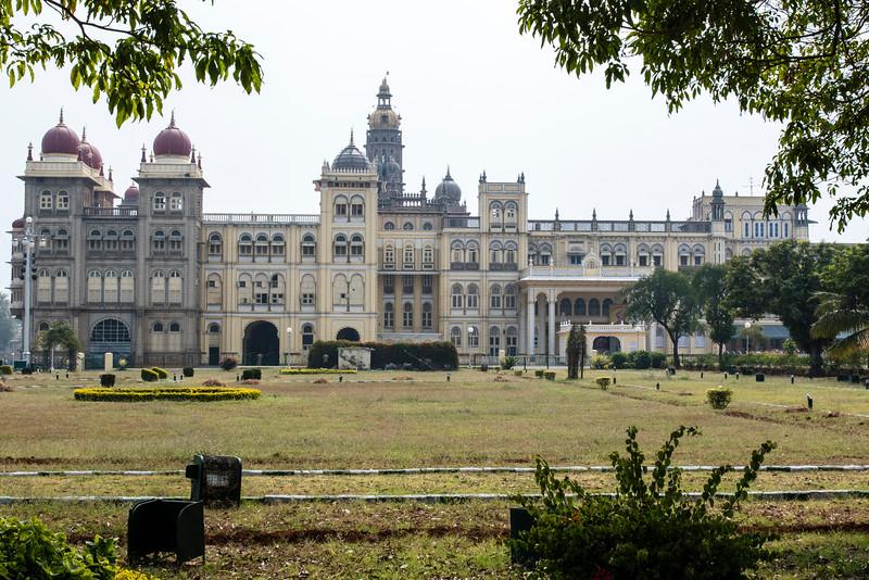 MYSORE. KARNATAKA. MAHARADJA'S PALACE.