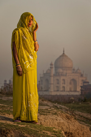 The Yellow Saree