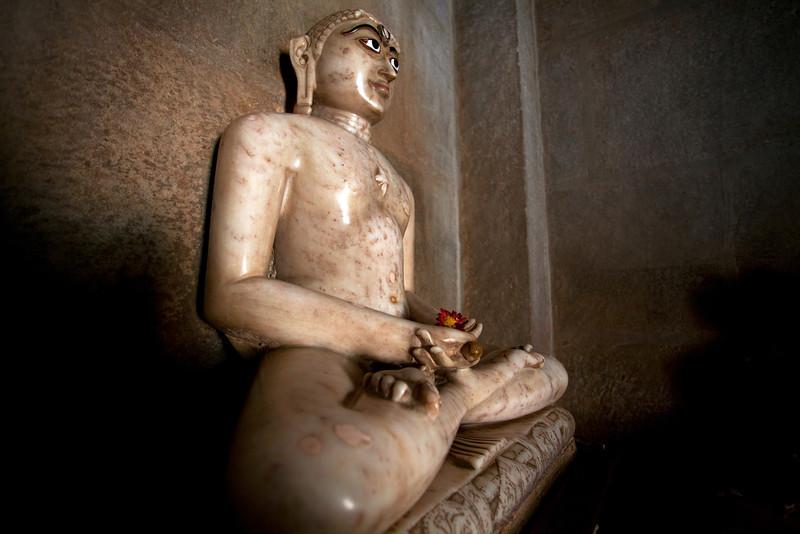 JAIN TEMPLE WITH SCENES FROM THE KAMASUTRA. RANAKPUR. RAJASTAN. INDIA.