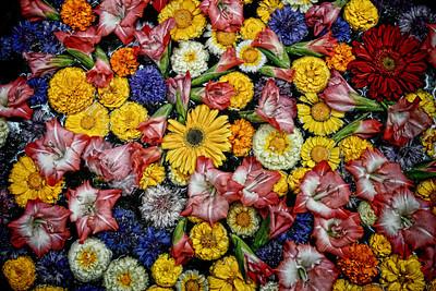 #IN034 Floating Flowers